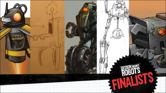 Vote! Design Many Robots Finalists